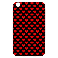 Love Pattern Hearts Background Samsung Galaxy Tab 3 (8 ) T3100 Hardshell Case