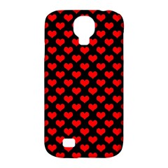 Love Pattern Hearts Background Samsung Galaxy S4 Classic Hardshell Case (pc+silicone)