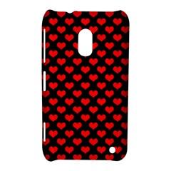 Love Pattern Hearts Background Nokia Lumia 620