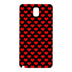 Love Pattern Hearts Background Samsung Galaxy Note 3 N9005 Hardshell Back Case