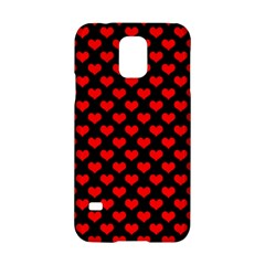 Love Pattern Hearts Background Samsung Galaxy S5 Hardshell Case