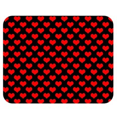 Love Pattern Hearts Background Double Sided Flano Blanket (medium)