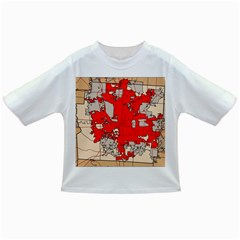 Map Of Franklin County Ohio Highlighting Columbus Infant/toddler T Shirts