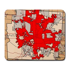 Map Of Franklin County Ohio Highlighting Columbus Large Mousepads