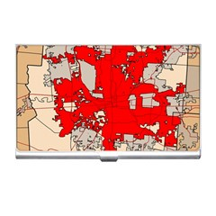 Map Of Franklin County Ohio Highlighting Columbus Business Card Holders