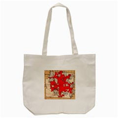 Map Of Franklin County Ohio Highlighting Columbus Tote Bag (cream)