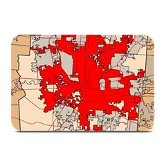 Map Of Franklin County Ohio Highlighting Columbus Plate Mats