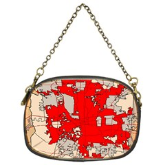 Map Of Franklin County Ohio Highlighting Columbus Chain Purses (one Side)