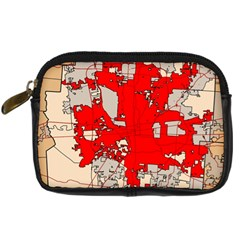 Map Of Franklin County Ohio Highlighting Columbus Digital Camera Cases