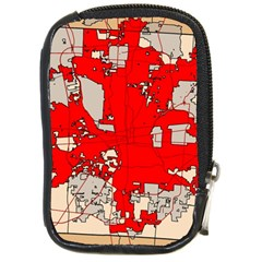 Map Of Franklin County Ohio Highlighting Columbus Compact Camera Cases