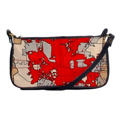Map Of Franklin County Ohio Highlighting Columbus Shoulder Clutch Bags