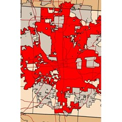 Map Of Franklin County Ohio Highlighting Columbus 5 5  X 8 5  Notebooks
