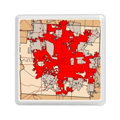 Map Of Franklin County Ohio Highlighting Columbus Memory Card Reader (square)