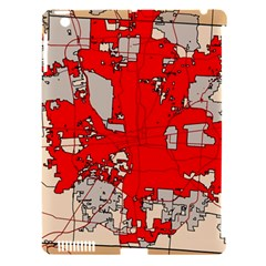 Map Of Franklin County Ohio Highlighting Columbus Apple Ipad 3/4 Hardshell Case (compatible With Smart Cover)