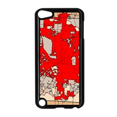Map Of Franklin County Ohio Highlighting Columbus Apple Ipod Touch 5 Case (black)