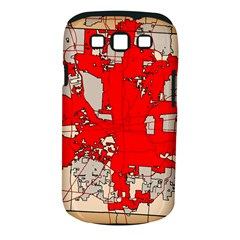 Map Of Franklin County Ohio Highlighting Columbus Samsung Galaxy S Iii Classic Hardshell Case (pc+silicone)