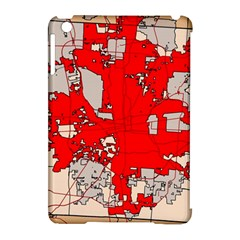 Map Of Franklin County Ohio Highlighting Columbus Apple Ipad Mini Hardshell Case (compatible With Smart Cover)