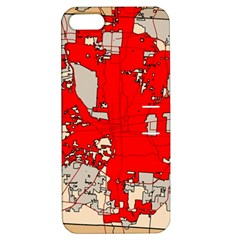 Map Of Franklin County Ohio Highlighting Columbus Apple Iphone 5 Hardshell Case With Stand