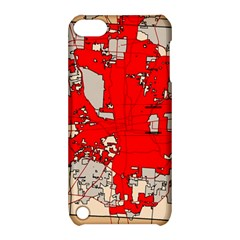 Map Of Franklin County Ohio Highlighting Columbus Apple Ipod Touch 5 Hardshell Case With Stand