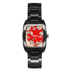 Map Of Franklin County Ohio Highlighting Columbus Stainless Steel Barrel Watch