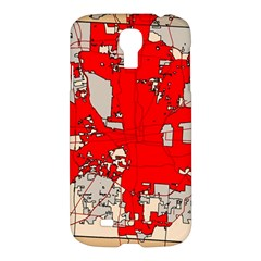 Map Of Franklin County Ohio Highlighting Columbus Samsung Galaxy S4 I9500/i9505 Hardshell Case