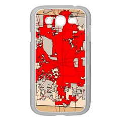 Map Of Franklin County Ohio Highlighting Columbus Samsung Galaxy Grand Duos I9082 Case (white)