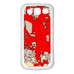 Map Of Franklin County Ohio Highlighting Columbus Samsung Galaxy S3 Back Case (white)