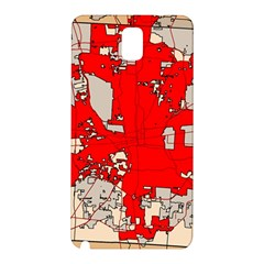 Map Of Franklin County Ohio Highlighting Columbus Samsung Galaxy Note 3 N9005 Hardshell Back Case