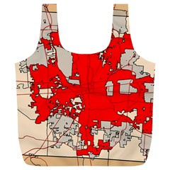 Map Of Franklin County Ohio Highlighting Columbus Full Print Recycle Bags (l)