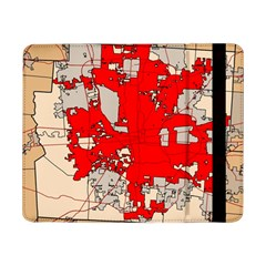 Map Of Franklin County Ohio Highlighting Columbus Samsung Galaxy Tab Pro 8 4  Flip Case