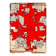 Map Of Franklin County Ohio Highlighting Columbus Samsung Galaxy Tab S (10.5 ) Hardshell Case