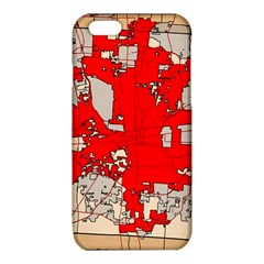 Map Of Franklin County Ohio Highlighting Columbus iPhone 6/6S TPU Case