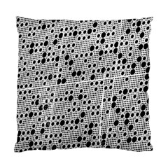 Metal Background Round Holes Standard Cushion Case (one Side)
