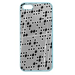 Metal Background Round Holes Apple Seamless Iphone 5 Case (color)