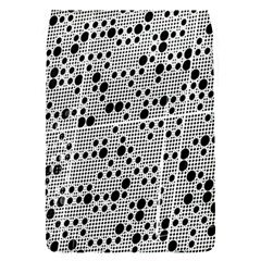 Metal Background Round Holes Flap Covers (s)