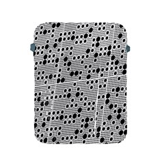Metal Background Round Holes Apple Ipad 2/3/4 Protective Soft Cases