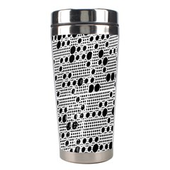 Metal Background Round Holes Stainless Steel Travel Tumblers