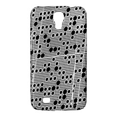 Metal Background Round Holes Samsung Galaxy Mega 6 3  I9200 Hardshell Case