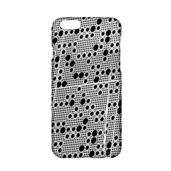Metal Background Round Holes Apple Iphone 6/6s Hardshell Case