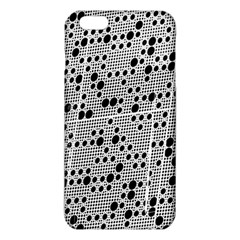 Metal Background Round Holes Iphone 6 Plus/6s Plus Tpu Case
