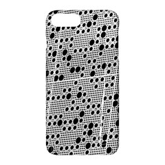 Metal Background Round Holes Apple Iphone 7 Plus Hardshell Case