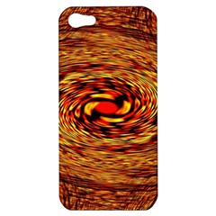 Orange Seamless Psychedelic Pattern Apple Iphone 5 Hardshell Case