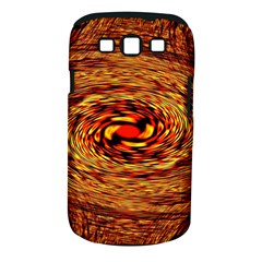 Orange Seamless Psychedelic Pattern Samsung Galaxy S Iii Classic Hardshell Case (pc+silicone)