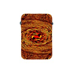 Orange Seamless Psychedelic Pattern Apple Ipad Mini Protective Soft Cases