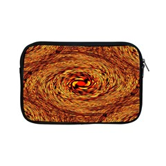 Orange Seamless Psychedelic Pattern Apple Ipad Mini Zipper Cases