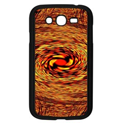 Orange Seamless Psychedelic Pattern Samsung Galaxy Grand Duos I9082 Case (black)
