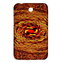 Orange Seamless Psychedelic Pattern Samsung Galaxy Tab 3 (7 ) P3200 Hardshell Case