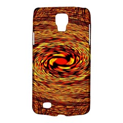 Orange Seamless Psychedelic Pattern Galaxy S4 Active