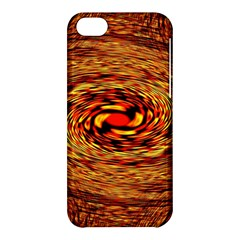 Orange Seamless Psychedelic Pattern Apple Iphone 5c Hardshell Case