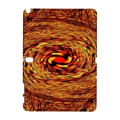 Orange Seamless Psychedelic Pattern Galaxy Note 1